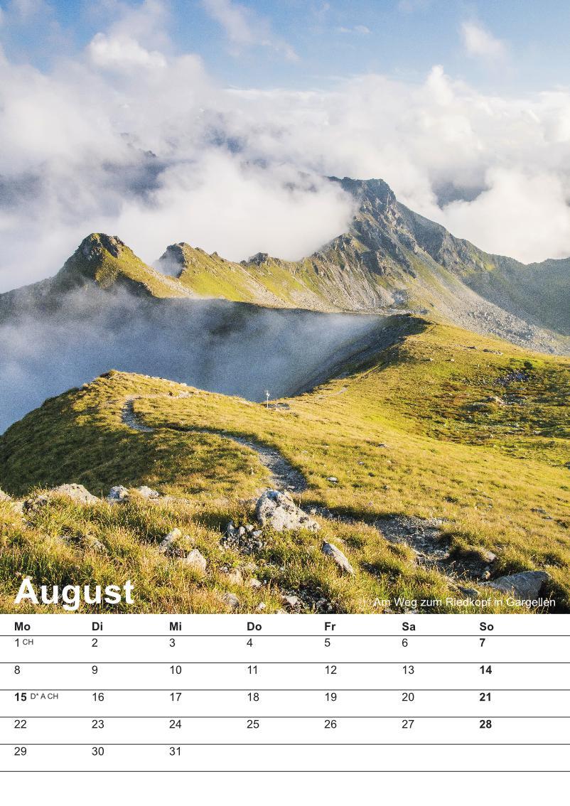 Bildkalender Montafon 2016