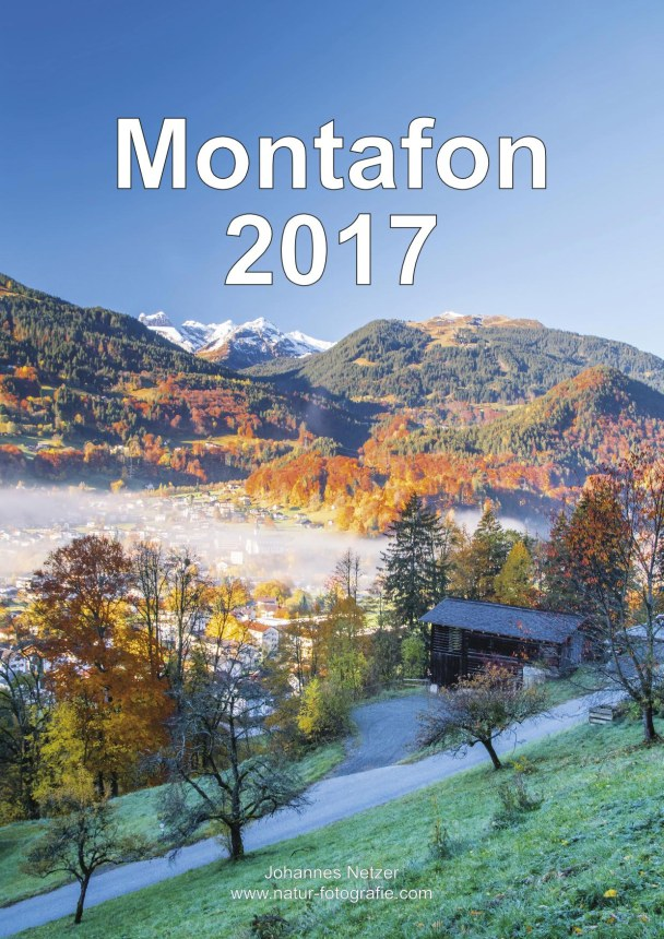 Bildkalender Montafon 2017 - Titelbild