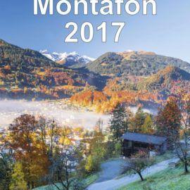 Wandkalender Montafon 2017 auch bei Amazon erhältlich