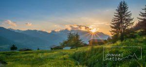 Abendsonne im Montafon