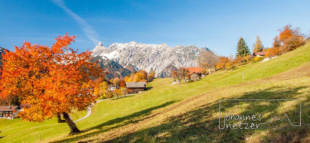 Herbst in Vorarlberg
