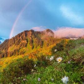 Magische Momente in den Bergen